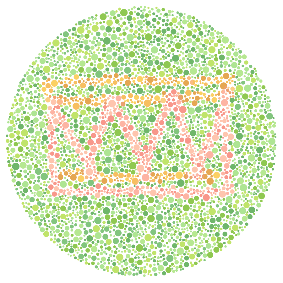 Free colorblind test | NowYouSee